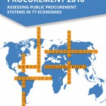 """Portada del informe """"Benchmarking Public Procuremente 2016"""" realizado por el Banco Mundial"""