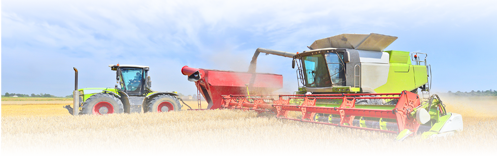 Tractor de cultivo
