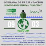Jornada de Presentación de los Servicios de Extenda en Cádiz, 9 de marzo a las 10 am.